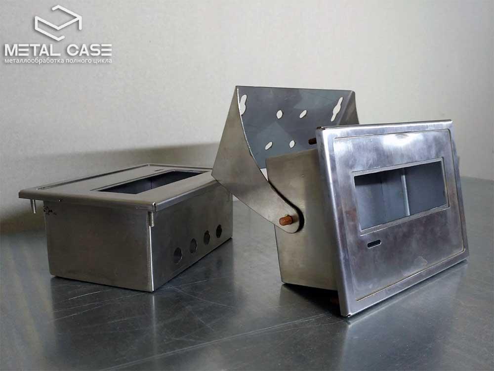 Корпус из нержавеющей стали для медицинского экрана с кронштейном (9 фото)