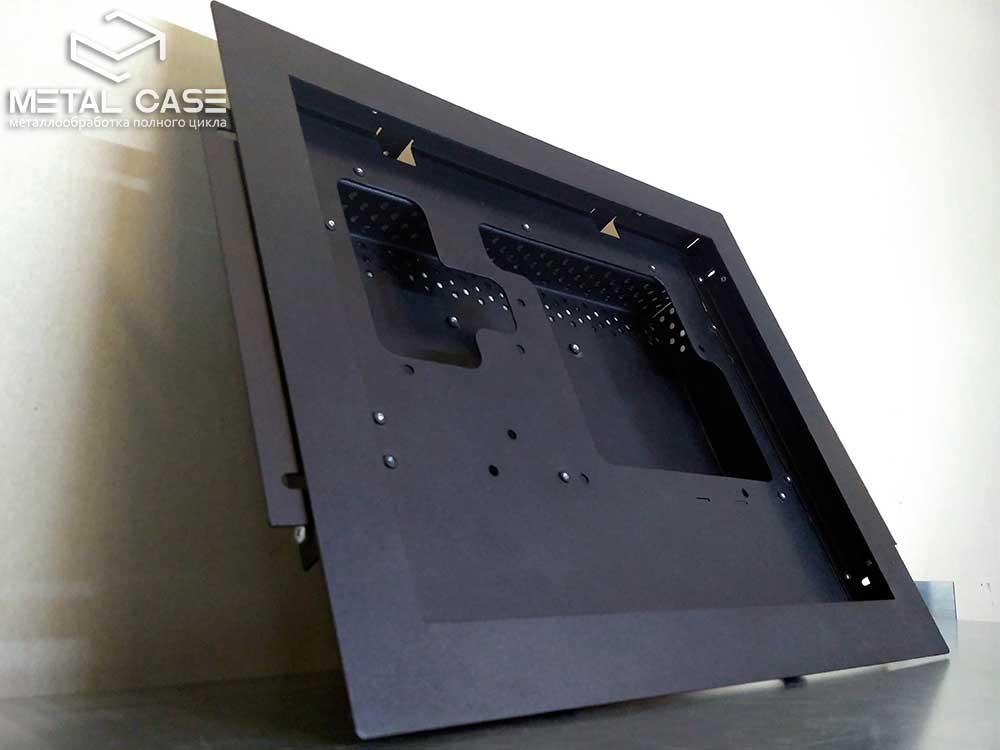 Стальной корпус для сенсорного экрана (9 фото)